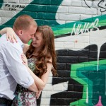 Toronto Graffiti Train Urban Engagement Photos 01 150x150 Engagement shoot   Downtown Toronto   Graffiti and Urban Theme   Kevin and Tanya