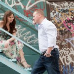 Toronto Graffiti Train Urban Engagement Photos 07 150x150 Engagement shoot   Downtown Toronto   Graffiti and Urban Theme   Kevin and Tanya