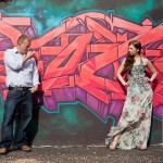Toronto Graffiti Train Urban Engagement Photos 09 150x150 Engagement shoot   Downtown Toronto   Graffiti and Urban Theme   Kevin and Tanya