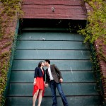 Engagement Photos Distillery District Brookfield Place Toronto Umbrella 2 150x150 Engagement Shoot in Downtown Toronto at the Distillery District and Brookfield Place; K+Larry